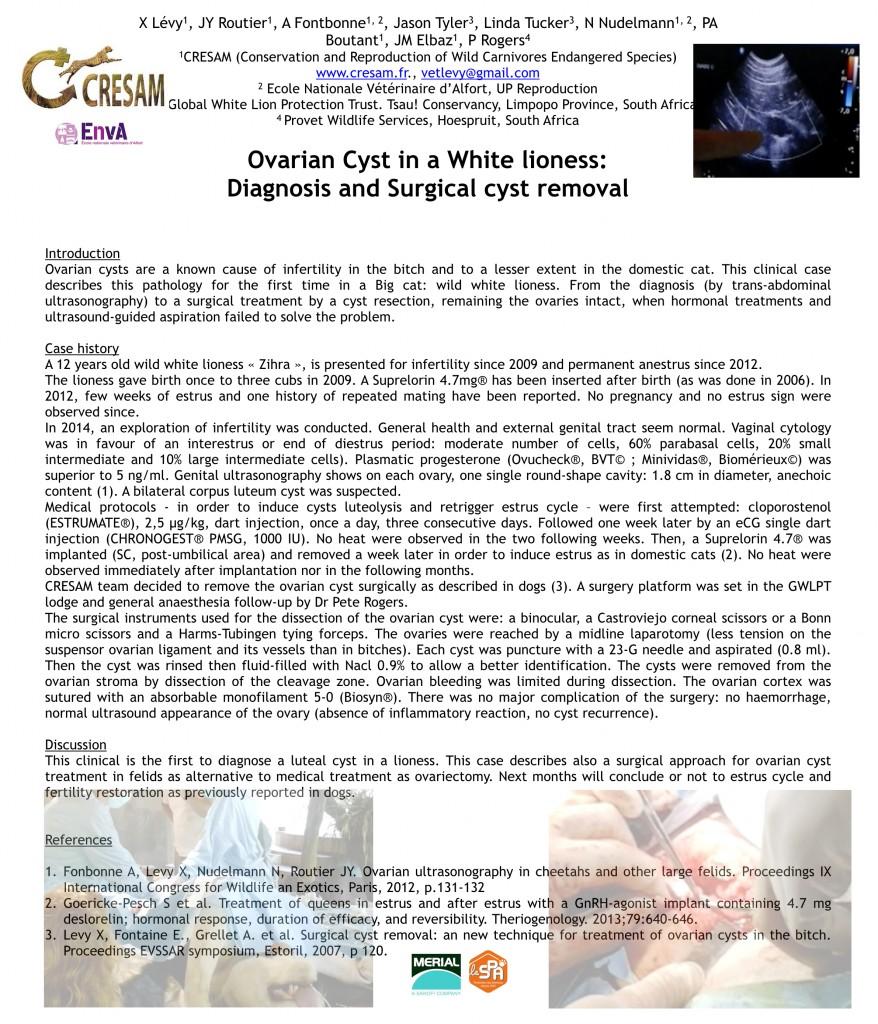 Ovarian cyst LION EVSSAR ISCFR 2016 PARIS.001